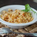 Arroz con Salchicha (Rice with sausage)