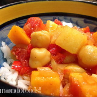 Moroccan stew with chickpeas