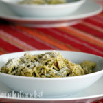 Creamy Pesto Pasta with Chicken & Potatoes