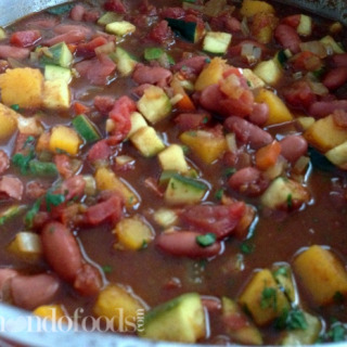 Vegetable and Red Bean Chili