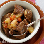 Beef Stew with Potatoes and Carrots (Gulyas)